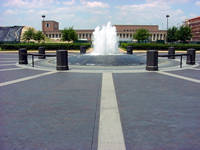 Rice University Lee and Joe Jamail Plaza in Houston, Texas