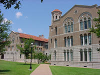 Rice University Keck Hall in Houston, Texas