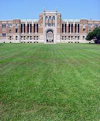 Rice University Lovett Hall in Houston, Texas