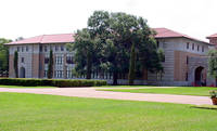Rice University Rayzor Hall in Houston, Texas