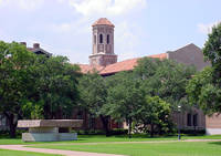Rice University Ryon Engineering Building in Houston, Texas