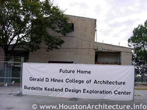University of Houston Burdette Keeland Design Exploration Center in Houston, Texas