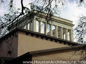 University of Houston College of Architecture Building in Houston, Texas