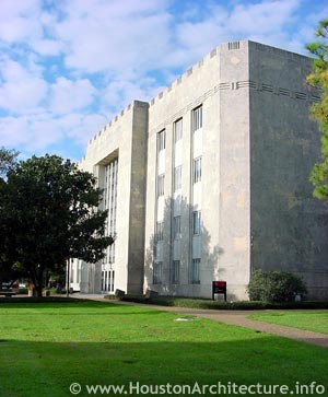 University of Houston Ezekiel W. Cullen Building in Houston, Texas