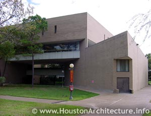 University of Houston Fine Arts Building in Houston, Texas