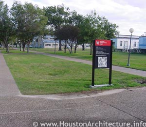 University of Houston Free Speech Zone in Houston, Texas