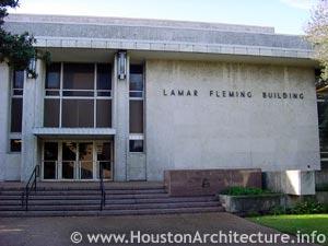 university of houston lamar fleming junior building in houston texas