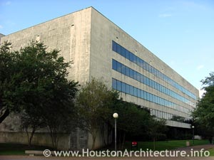 University of Houston M.D. Anderson Library in Houston, Texas