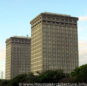University of Houston Moody Towers in Houston, Texas