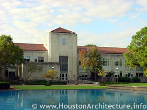 University of Houston Roy G. Cullen Building in Houston, Texas