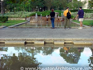 University of Houston Student Life Plaza in Houston, Texas