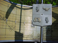 Photo of Cohen House Sun Dial in Houston, Texas