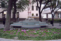 Courthouse Square Fountain in Houston, Texas