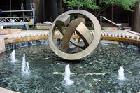 Photo of Houston Center Fountain in Houston, Texas
