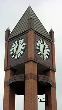 Market Square Clock Tower in Houston, Texas