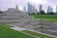 Police Officer's Memorial in Houston, Texas