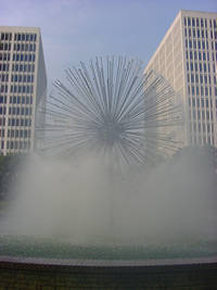 Photo of Wortham Fountain in Houston, Texas