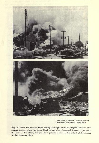 1953 Fireworks Factory Explosion photos. - Historic ...