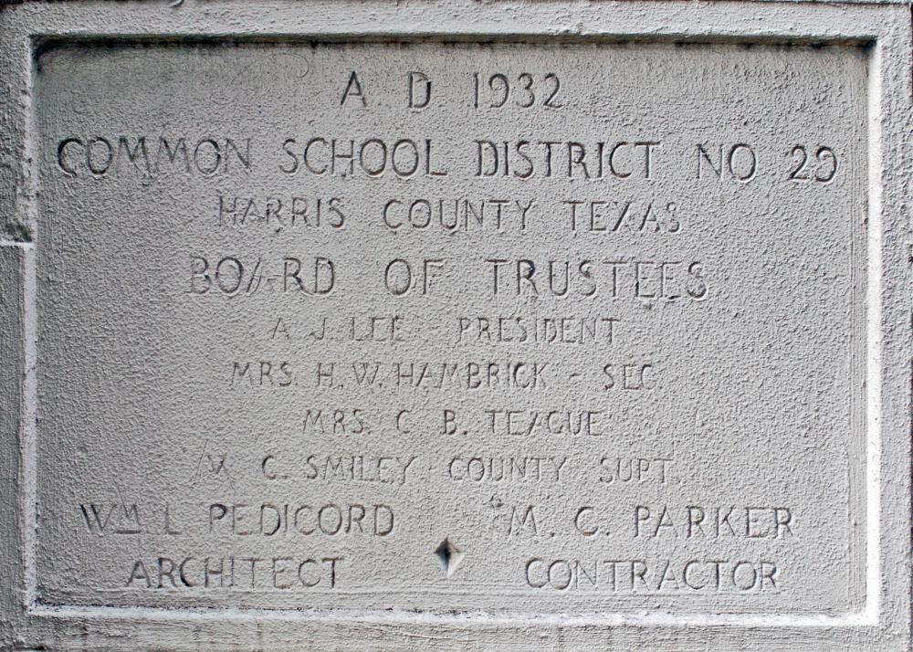1932-33 Buildings - Marrs School Cornerstone in 2015.jpg